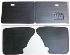 VOLKSWAGEN VW BEETLE SEDAN DOOR PANELS, FULL SET (BLACK) FITS VW BEETLE 65-77