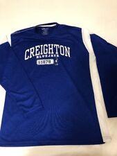 OVB Old Varsity Brand Men XL Blue Creighton BlueJays L/S Shirt