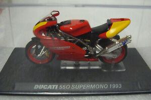 Ducati 550 Supermono 1993 Red Yellow Top 1:24