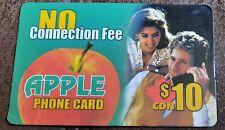 APPLE  $10  PHONE CARD CANADA