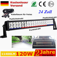 120W LED Arbeitsscheinwerfer Offroad Scheinwerfer 12V 24V Fabrik Licht Bar SUV