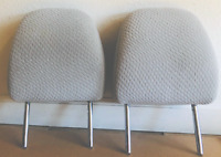 Headrest 2011-2014 Toyota Sienna Second Row Light Gray Cloth 2 pieces set