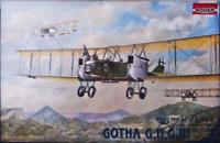 Roden 002 Gotha G.II GIII - Gothaer Waggonfabrik - 1/72 Scale Model Kit 329 mm