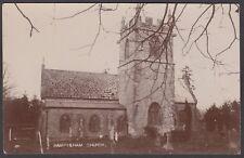 Postcard Rampisham Church near Cattistock Dorset early RP by Green of Evershot