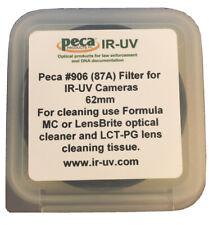 Peca IR-UV 62mm #906 (87A) Filter for IR-UV Cameras