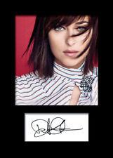 DAKOTA JOHNSON #2 A5 Signed Mounted Photo Print (REPRINT) - FREE DELIVERY