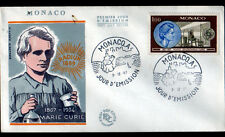 MONACO / SCIENTIFIQUE MARIE SKLODOWSKA-CURIE / Enveloppe 1° JOUR