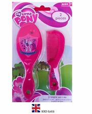 My Little Pony BRUSH & COMB SET Kids Birthday Christmas Gift Stocking Filler Toy