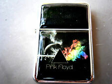 PINK FLOYD DARK SIDE OF THE MOON STAR BRAND LIGHTER ROCK & EXTRA ZIPPO FLINTS