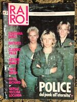 RARO! 2 1988 Magazine about discography ps POLICE Patty Smith Berte' BATTIATO