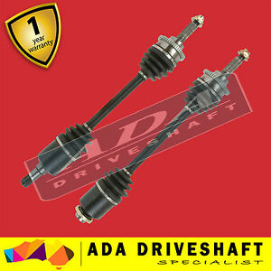 2 x Top Quality CV Joint Drive Shaft for Ford Ranger PJ PK 4WD 2007-   (Pair)