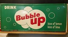 Drink Bubble Up Sign -- Super Rare!!!!