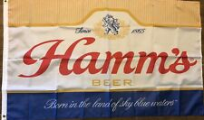 Hamms Beer Flag 3x5 Case Banner Man Cave Bar