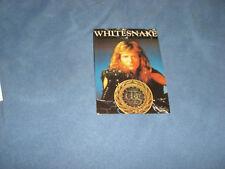 Whitesnake Coverdale Vintage Postcard