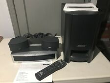 Bose 321 Series ii Gsx Ps3-2-1 Home Theater System Black Excellent With Manual