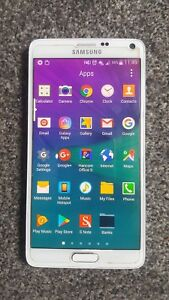 Samsung Galaxy Note 4 , 32GB - white unlocked  Smartphone