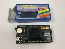 Vintage Dynamo And Solar Radio Model DC-10 Radio 4 Power System FM AM Receiver