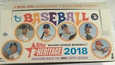 2018 TOPPS HERITAGE BASEBALL CARDS, PICK ANY 10 TO COMPLETE YOUR SET