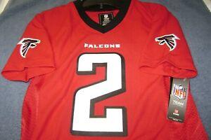 NFL Jersey Atlanta Falcons #2 Matt Ryan BOY OR GIRL 18/20  XL NEW $50