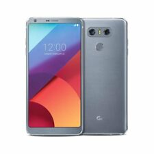 "New LG G6 32GB Platinum 4G LTE 5.7"" Quad Core 2.35GHz Android 7.0 Sim Free UK"