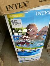 ✅Intex 26165Eh 15ft x 42in Easy Set Up Inflatable Swimming Pool Set Free Ship✅