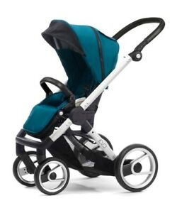 Mutsy Evo Urban Foldable Compact Lightweight Stroller in Pacific Blue