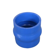"""Universal Silicon Coupler 3"""" Hump Hose Blue for Turbo Intercooler Pipe 3"""" Long"""