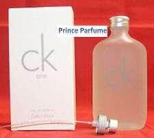 CK ONE EDT VAPO SPRAY AND SPLASH - 200 ml