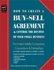How to Create a Buy-Sell Agreement & Control the Destiny of Your Small-ExLibrary