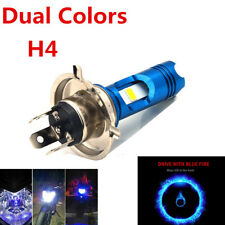 Dual Colors H4 COB LED 12V Motorcycle Headlamp 8W 6000K 850 LM High/Low