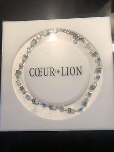 COEUR DE LION Geocube necklace
