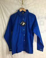 Hartwell Men's Blue Long Sleeve Button Down Shirt L NEW
