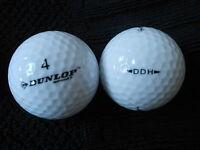 """20 DUNLOP  """"SPORT DDH"""" - """"DISTANCE"""" - Golf Balls -  """"PEARL/A"""" Grades."""