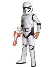 Star Wars Stormtrooper Halloween Cosplay Boys Lg Costume & Deluxe Helmet Child