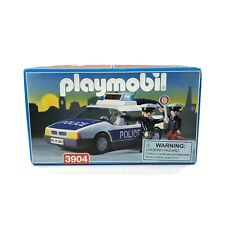 Playmobil Rare 3904 Police Play Set 1996 Factory Sealed Old Stock Retired