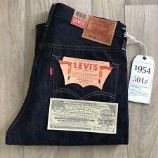 Levi's Vintage Clothing - 1954 501Z XX-Rígido Vendo Jeans-W34 L34-Bnwt