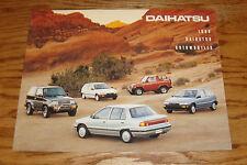 Original 1990 Daihatsu Full Line Sales Brochure 90 Charade Rocky 4x4