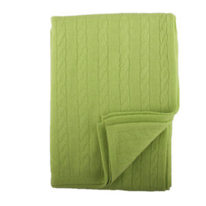 Tootsie Cashmere Pistachio Baby Blanket. Boxed for Gifting