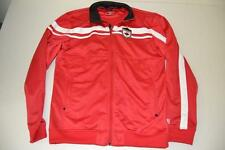 BROOKS CYCLING RACING CANADA MAPLE LEAF RED SWEATER JACKET MENS SIZE MEDIUM M