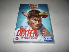 DEXTER THE FOURTH SEASON DVD FOUR DISC SET BRAND NEW AND SEALED