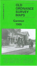 OLD ORDNANCE SURVEY MAP GARSTON 1905 LIVERPOOL GRASSENDALE AIGBURTH NEW DOCK