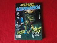 Vintage Rock N' Roll Magazine Kerrang Lita Ford Poster John Cougar           G72