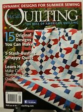 McCalls Quilting Original Designs Scrappy Quilts July Aug 2016 FREE SHIPPING JB