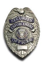 Framed Police Badge Print – SECURITY ENFORCEMENT OFFICER (Picture Poster Art)