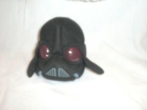 "Star Wars 5"" Small stuffed Plush Angry Birds Darth Vader"