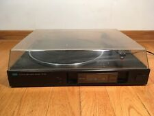 Sansui P-D10 Stereo Automatic Direct Drive Turntable + SC-80 Made in Japan