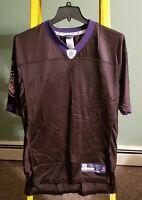 NFL Baltimore Ravens Ray Lewis #52 Reebok Men's Medium Black Jersey