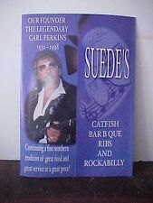Carl Perkins SUEDES Restaurant Jackson Tennessee FREE US SHIP