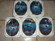 5 Bradford Exchange Christian Lassen Above and Below Decorative Plates Ltd Edt