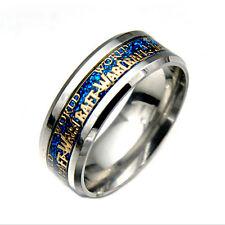 NIce World of Warcraft Horde 316L Stainless Steel Men Women Band Ring Size 7-11